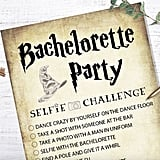 Harry Potter Bachelorette Party Printable Game Cards