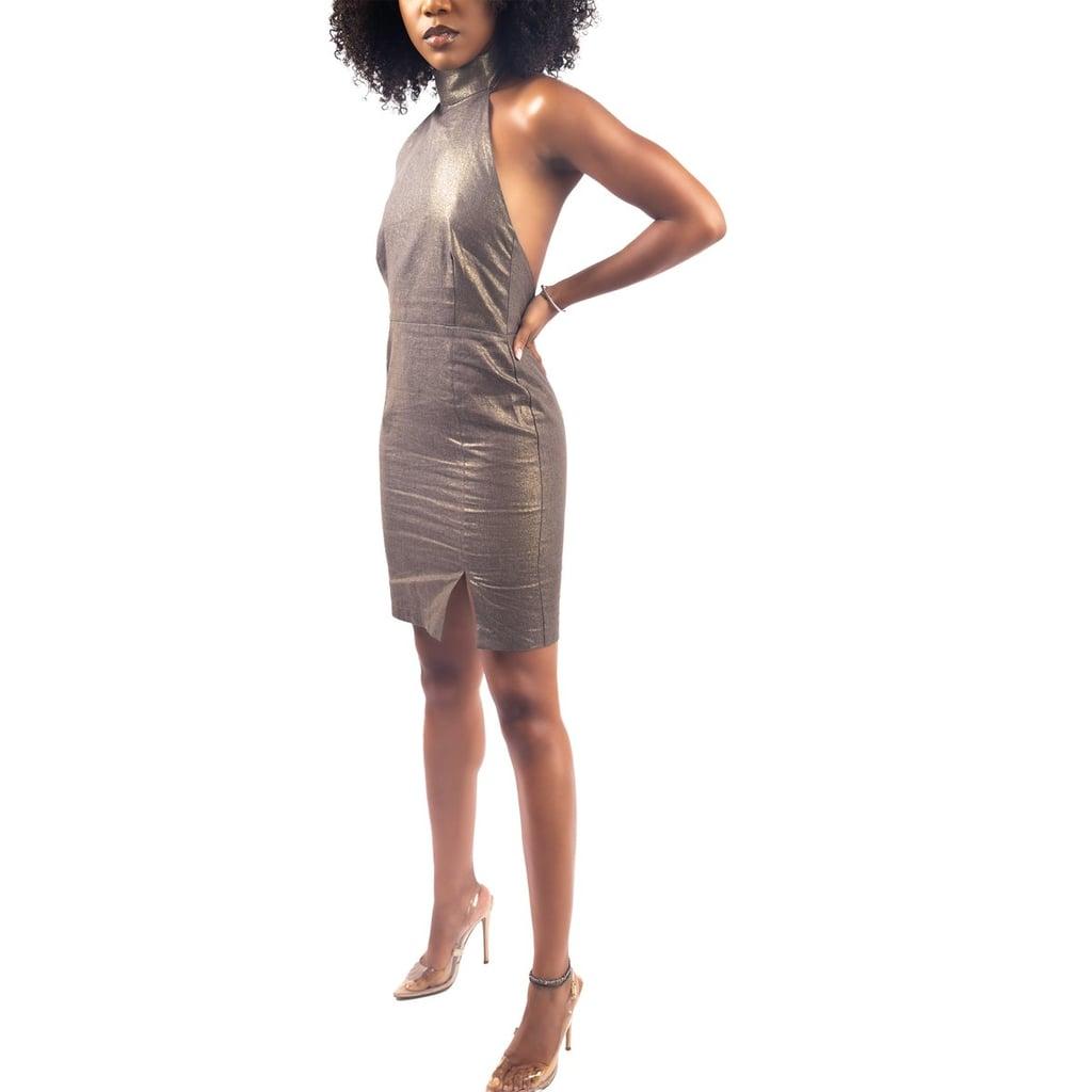 Minis Bronze Linen Dress
