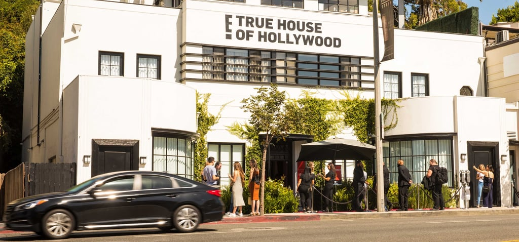 Behind the Scenes at the E! True Hollywood Story Pop-Up