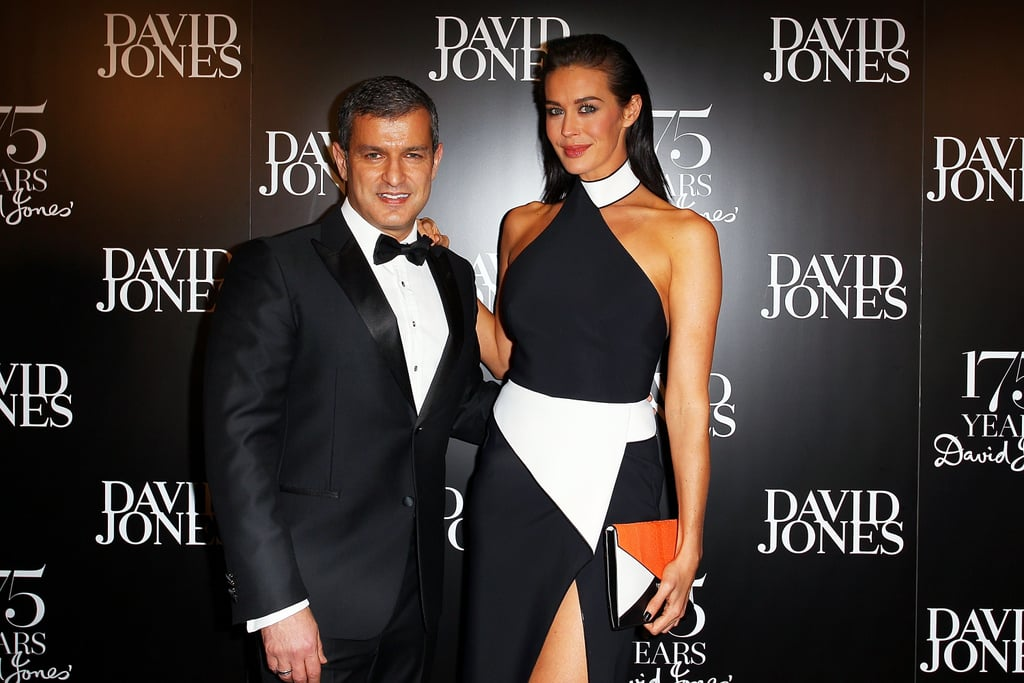 Paul Zahra and Megan Gale