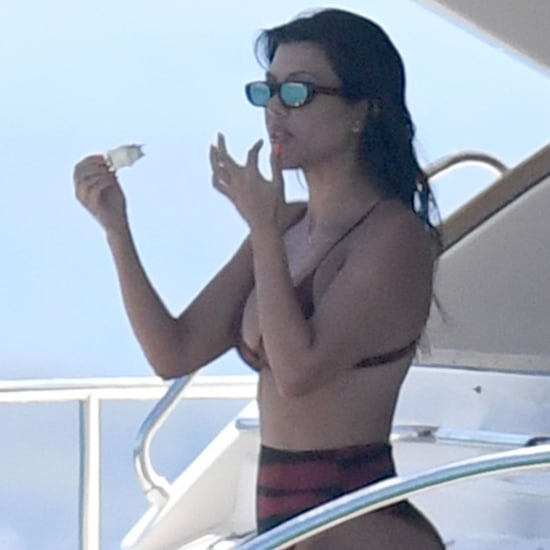 Kourtney Kardashian Bikini Pictures in Italy July 2019