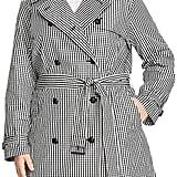 Lauren Ralph Lauren Gingham Double-Breasted Trench Coat