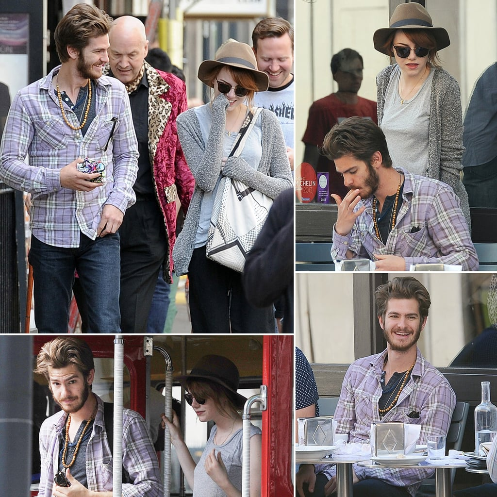 Emma Stone and Andrew Garfield in London | Pictures