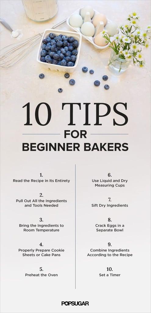 Baking Basics: 10 Tips For Beginner Bakers