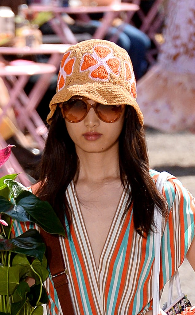 A Hat on the Kate Spade New York Runway at New York Fashion Week