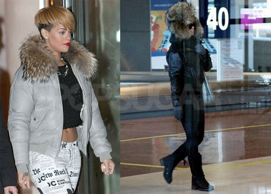 Photos of Rihanna Out and About in Paris