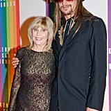 Kid Rock and brought his mom, Susan Ritchie, to the event.