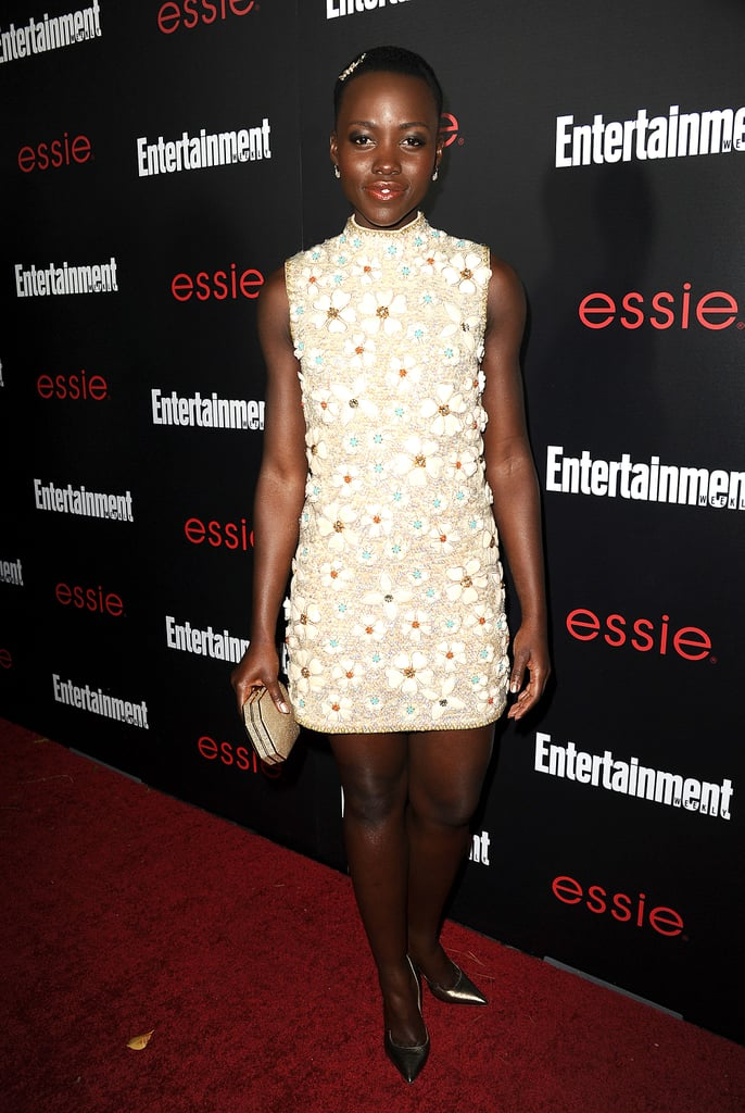 Lupita Nyong'o at the SAG Awards Preparty