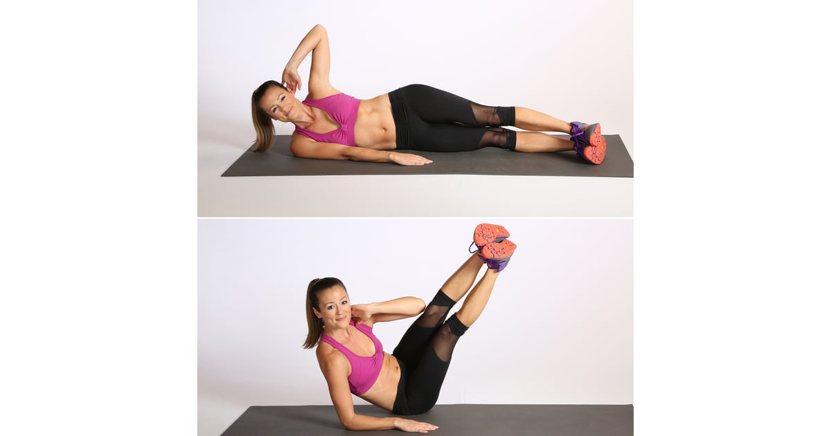 Core Oblique V Crunch Best Bodyweight Exercises