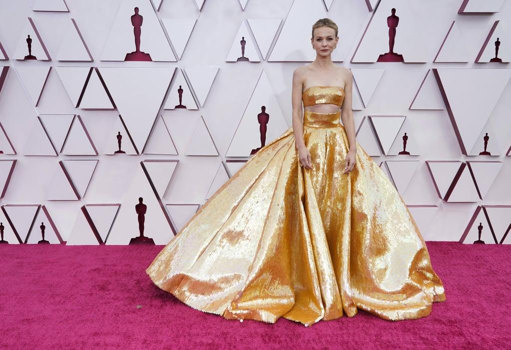 Oscars Red Carpet Dresses 2021