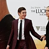 Zac Efron led his onscreen leading lady down the red carpet in Berlin.