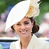 Kate Middleton's Voluminous Side Chignon at Trooping the Colour 2019