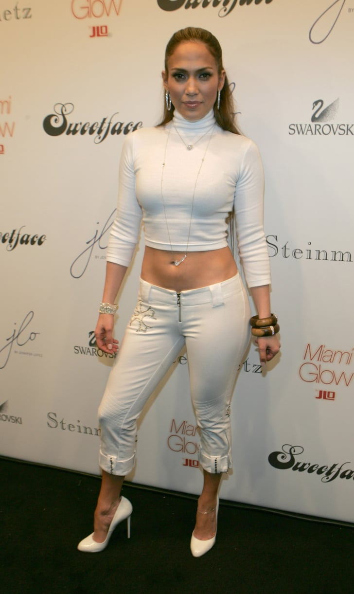 At New York Fashion Week In 2005 Jennifer Lopez 39 S Early 2000s Outfits Popsugar Latina Photo 14