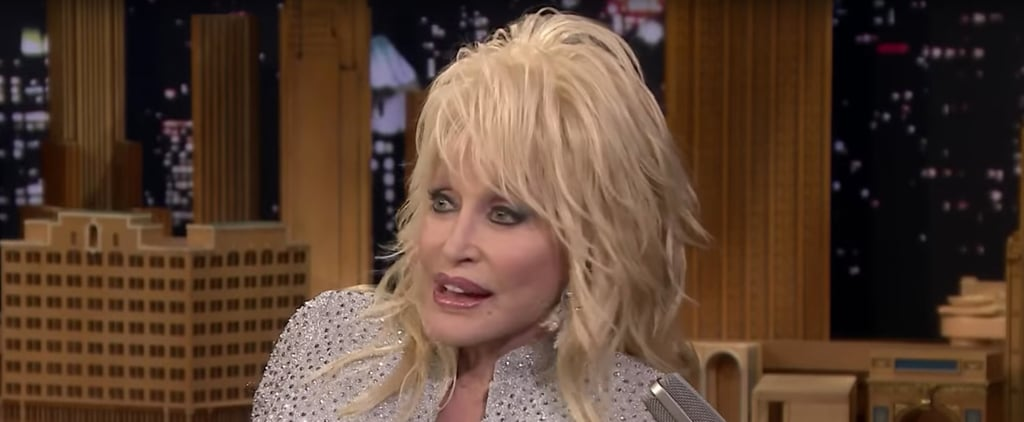 Dolly Parton Talking About a Threesome With Jennifer Aniston