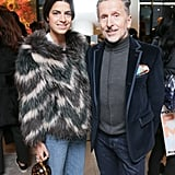 Leandra Medine and Simon Doonan