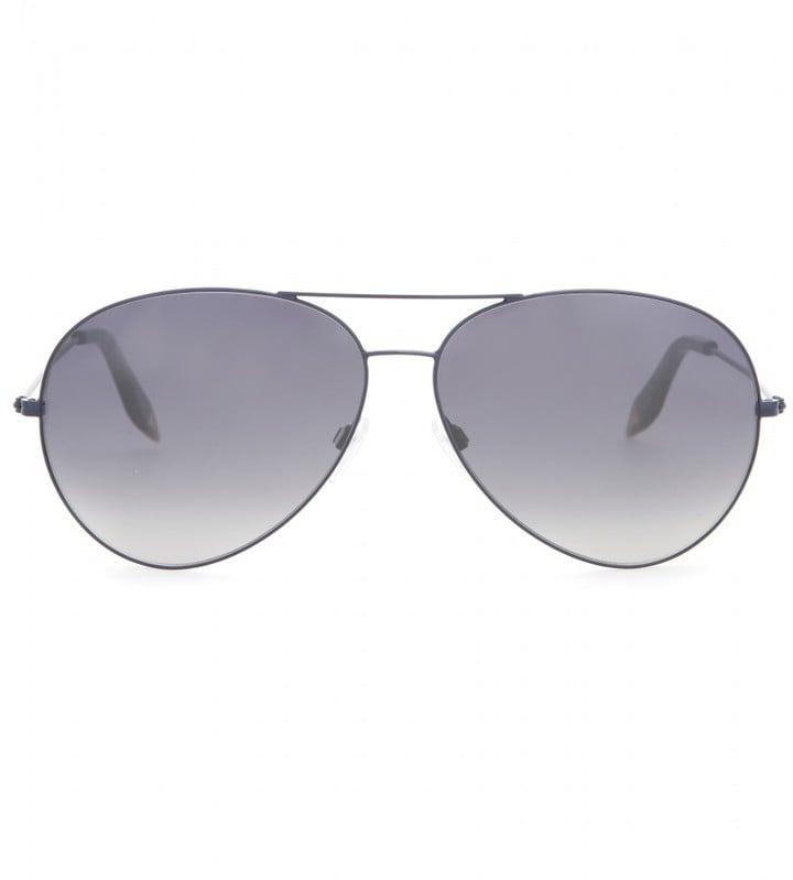 Victoria Beckham Classic Aviator Sunglasses ($550)