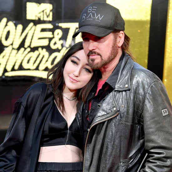 Noah and Billy Ray Cyrus at the 2017 MTV Movie and TV Awards