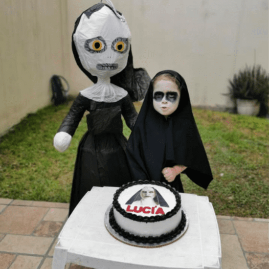 Girl Has The Nun Movie Themed Birthday Party