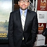 Steve Carell made a funny face at the LA premiere of Seeking a Friend For the End of the World.