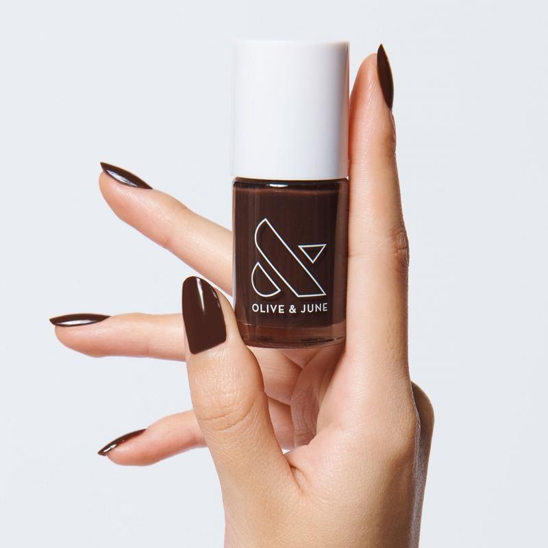 Winter Nail Polish Color: Sable Brown