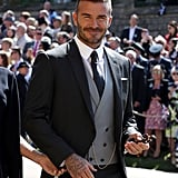 David Beckham at Royal Wedding 2018 Pictures