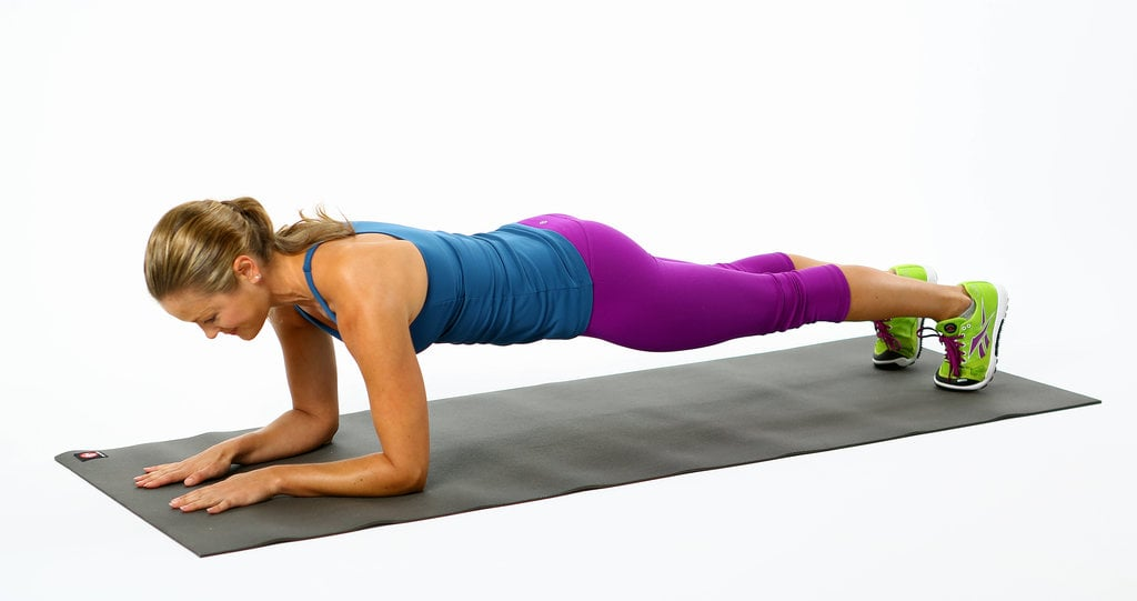Elbow Plank Tone Your Abs Without Crunches Popsugar Fitness Photo 7