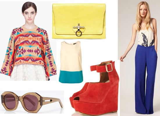 Shop Our Top Ten Colourful Buys Online for July: from ASOS, Topshop, Givenchy, YSL and Whistles