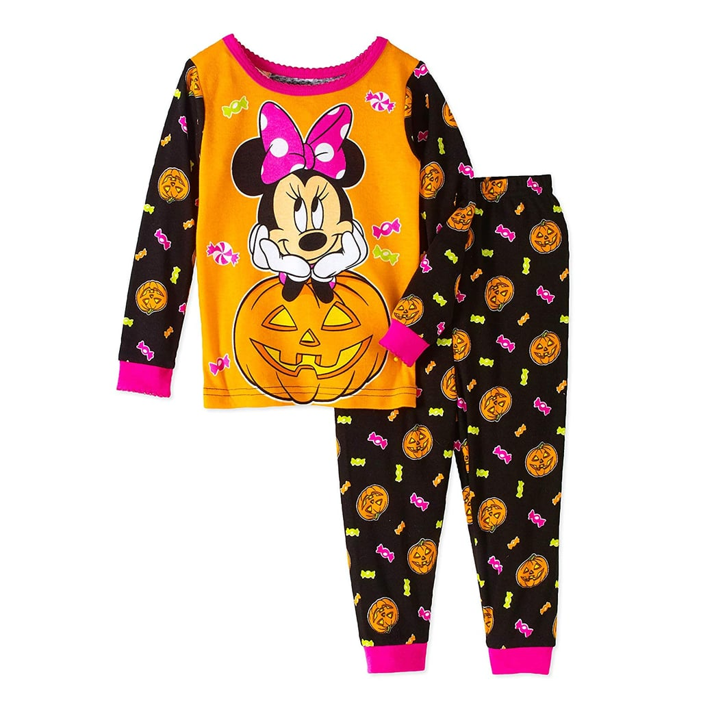 pumpkin minnie pj set