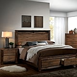Furniture of America Nangetti Rustic 2-Piece Queen Bedroom Set