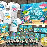 Baby Shark Birthday Party Kit