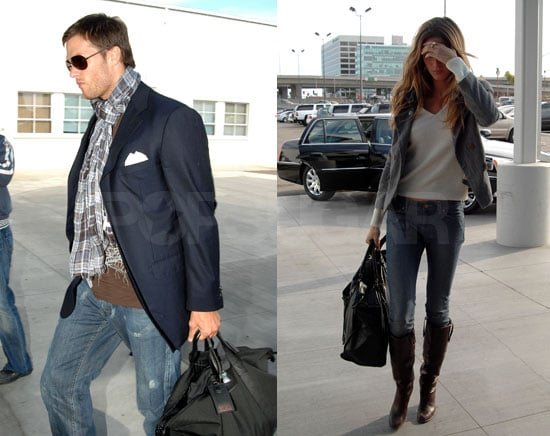 Tom and Gisele Are In and Out of LA
