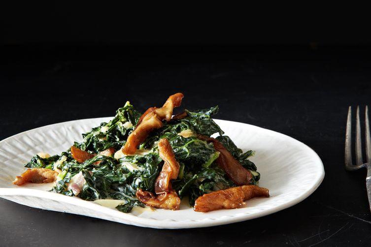 Miso-Creamed Kale