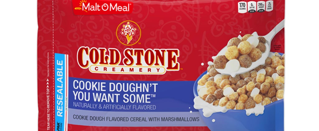 Cold Stone Ice Cream Cereal