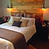 Mount a Reclaimed-Wood Feature Wall