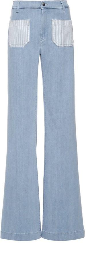 Circe Seafarer Light Bleach Palazzo Jeans ($240)