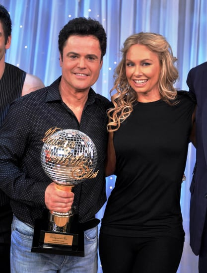 Kym Johnson and Donny Osmond win US version of Dancing with the Stars