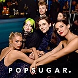 Stella Maxwell, Billie Eilish, Finneas O'Connell, Timothée Chalamet, and Sara Sampaio