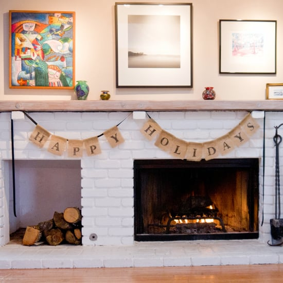 DIY Holiday Burlap Bunting