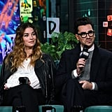 Dan Levy and Annie Murphy's Friendship Pictures