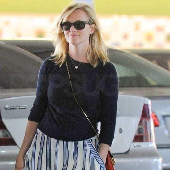 Reese Witherspoon Back From Belize Honeymoon in LA With Ava Phillippe Pictures
