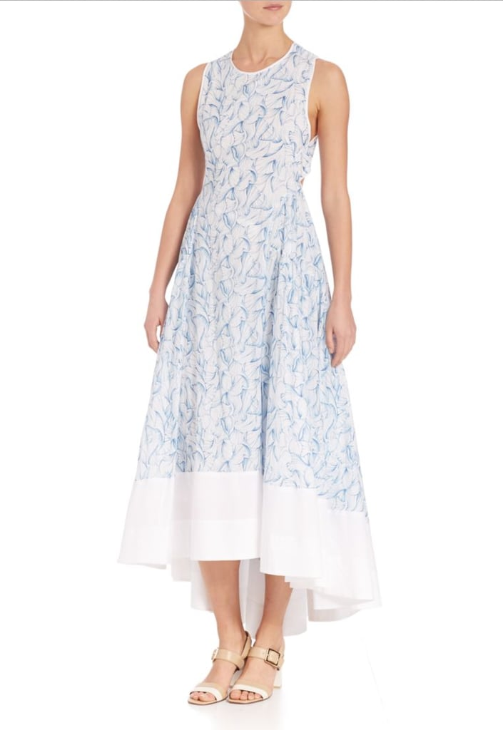 Tory Burch Blaire Printed Cotton Dress ($495)