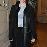 Amanda Seyfried arrived at the CR Fashion Book Issue 2 launch party in Paris on Tuesday.