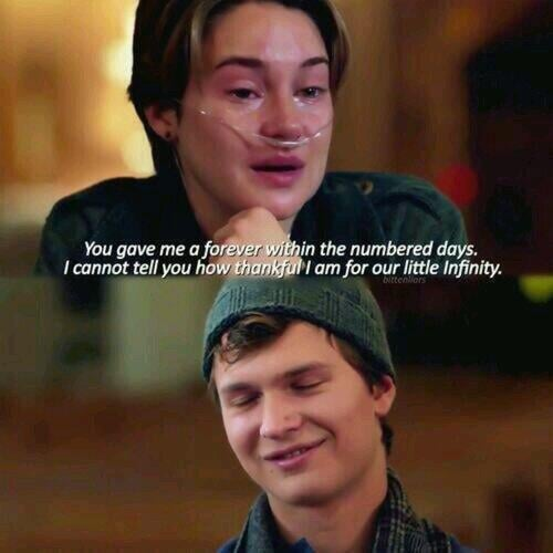 The Fault in Our Stars | Most Heartbreaking Lines on Love ...