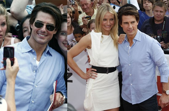 Pictures of Tom Cruise and Cameron Diaz Promoting Knight and Day in Germany