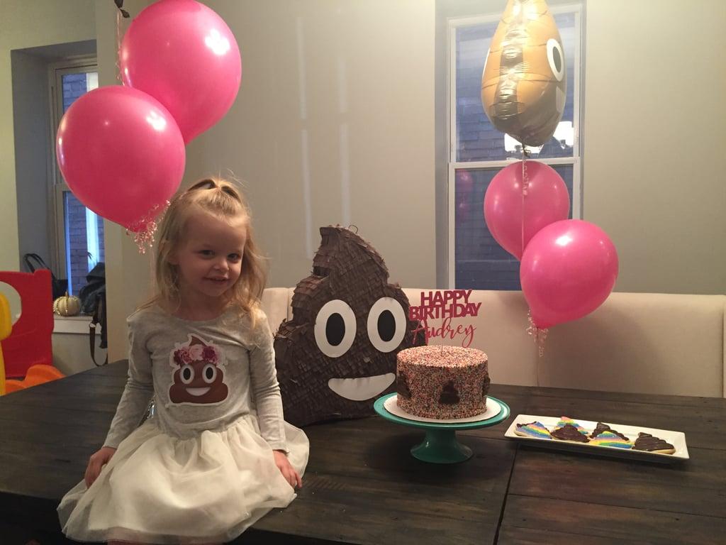 Kids Poop Emoji Birthday Party