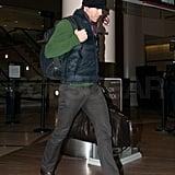 Ryan Reynolds Heads Back to LA Solo, Without Sandra or Scarlett