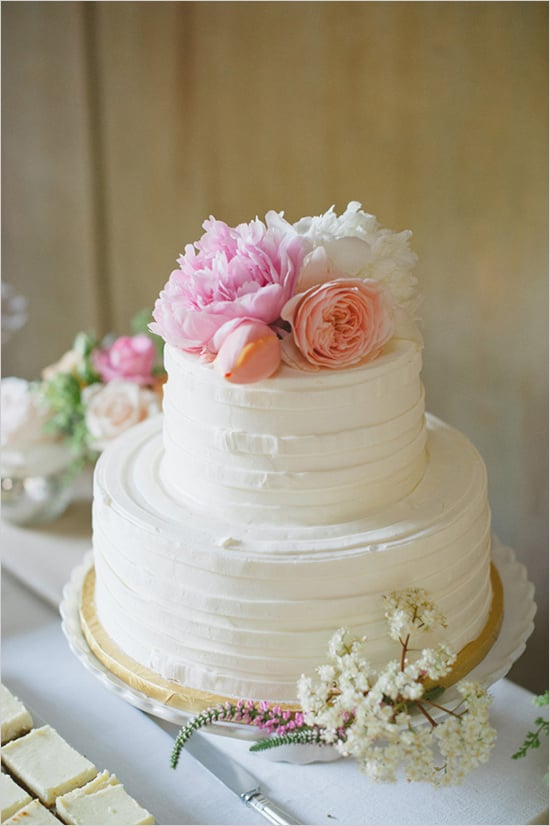 Simple wedding cakes popsugar food junglespirit Choice Image