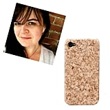 """@manhattancanuck iPhone 5 Cork Hard Case Cover ($25) """"This questionably protective yet unbelievably stylish cork iPhone case is ideal for me, as it will allowme to pin the pop-up reminders that I snooze every five minutes, directly to my phone."""""""