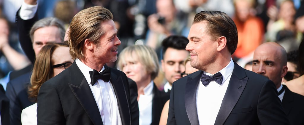 Brad Pitt and Leonardo DiCaprio Friendship Pictures