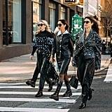 2020 Street Style Trend: Head-to-Toe Black